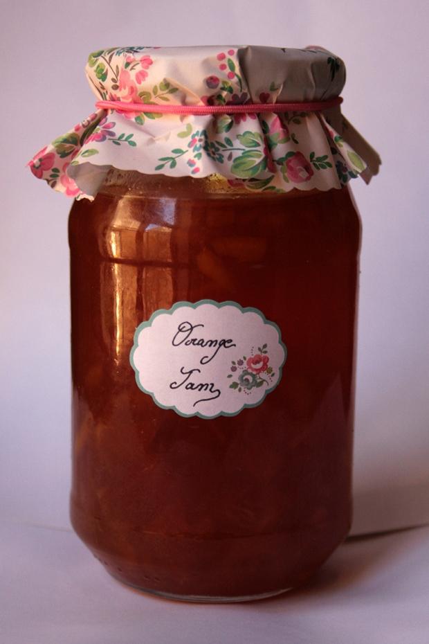 Home made jam.