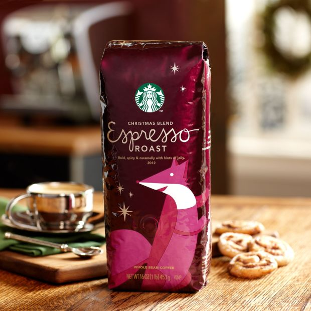 Starbucks Christmas Blend Espresso Roast from a trip to London http://www.starbucksstore.com/starbucks-christmas-blend-espresso-roast/011007935,default,pd.html