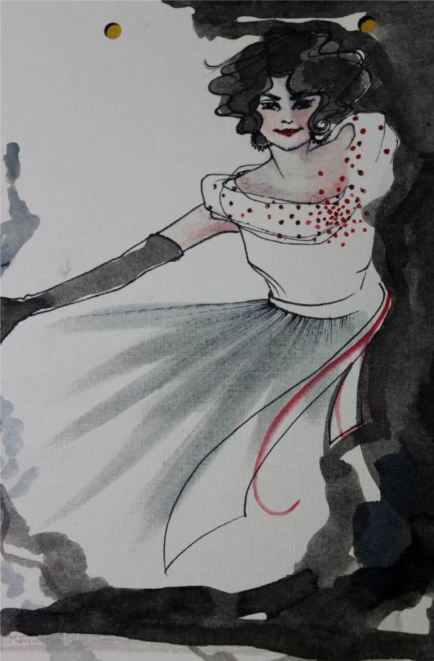 sketch carla